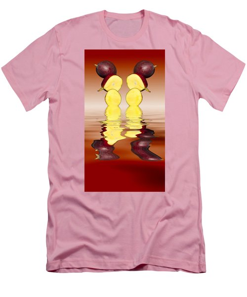 Fresh Ripe Mango Fruits Men's T-Shirt (Slim Fit)