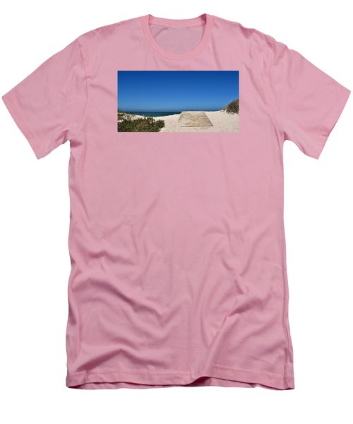 Men's T-Shirt (Slim Fit) featuring the photograph long awaited View by Werner Lehmann