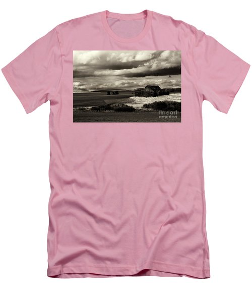 Men's T-Shirt (Slim Fit) featuring the photograph Seen Better Days by Mike Dawson
