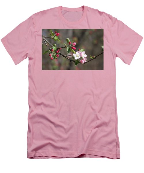 Men's T-Shirt (Athletic Fit) featuring the photograph Blossom And Hope by Vadim Levin