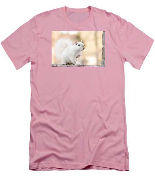 White Squirrel Men's T-Shirt (Athletic Fit)