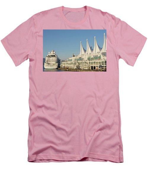 Canada Place Men's T-Shirt (Athletic Fit)