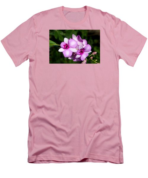 Men's T-Shirt (Slim Fit) featuring the photograph Flower Edition by Bernd Hau