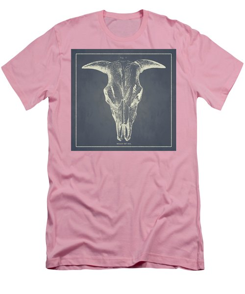 Vintage Ox Head Men's T-Shirt (Athletic Fit)