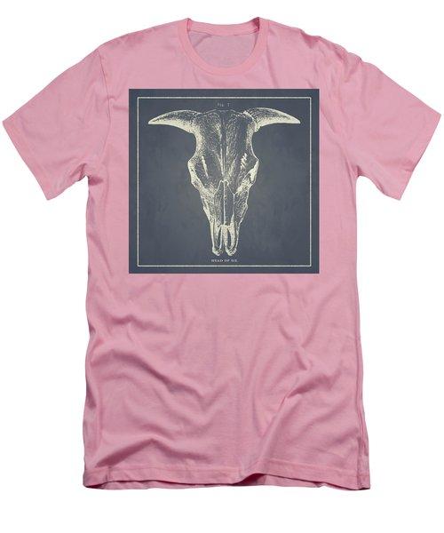 Vintage Ox Head Men's T-Shirt (Athletic Fit)