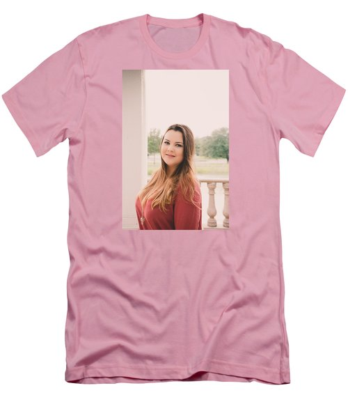 Men's T-Shirt (Slim Fit) featuring the photograph 5584 by Teresa Blanton