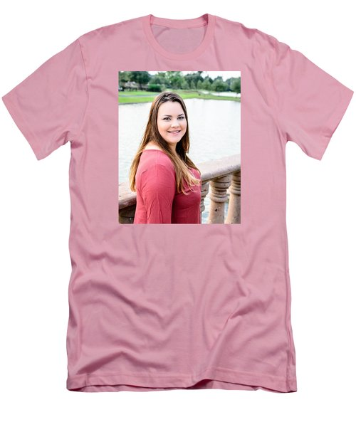 Men's T-Shirt (Slim Fit) featuring the photograph 5611 by Teresa Blanton