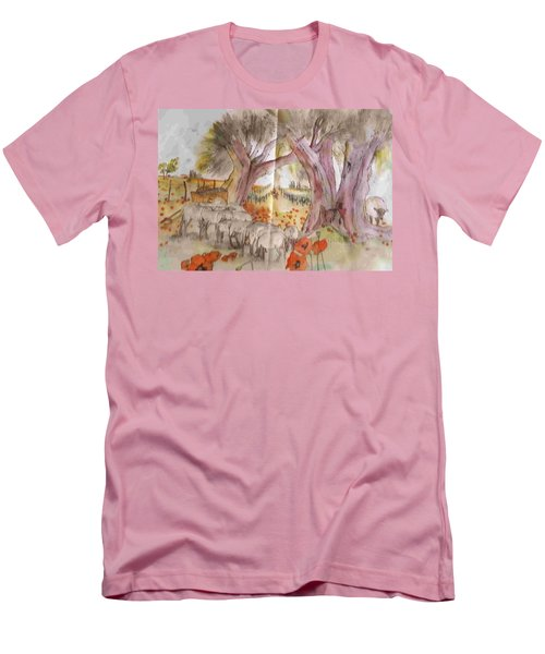 Trees Trees Trees Album Men's T-Shirt (Slim Fit)