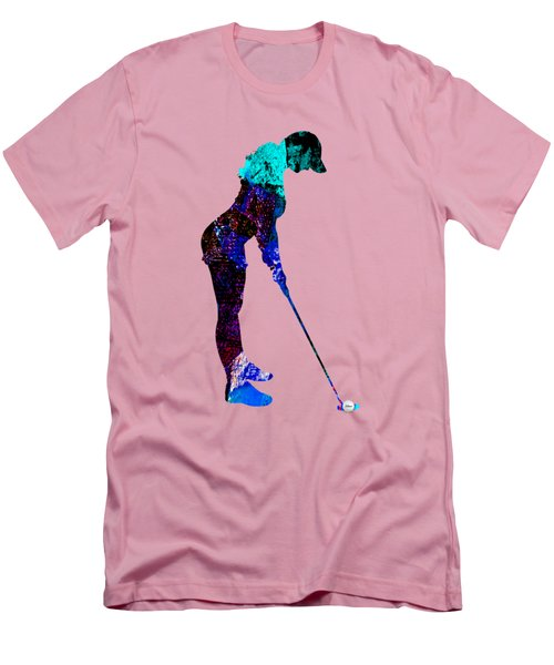 Womens Golf Collection Men's T-Shirt (Slim Fit) by Marvin Blaine