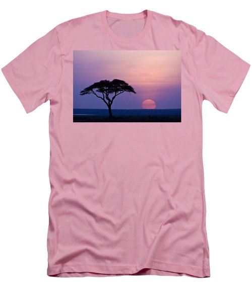 African Sunrise Men's T-Shirt (Athletic Fit)