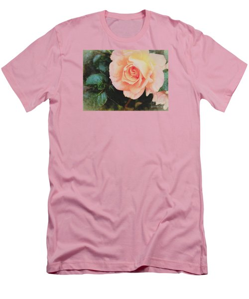 A Rose For Kathleen Men's T-Shirt (Slim Fit) by Janice Rae Pariza