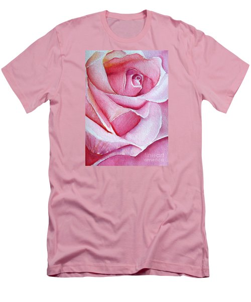 A Rose For You Men's T-Shirt (Slim Fit) by Allison Ashton