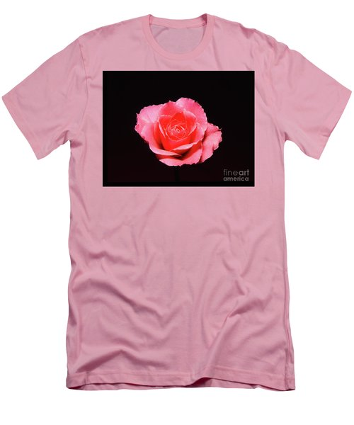 A Rose Is A Rose Is A Rose Men's T-Shirt (Slim Fit)