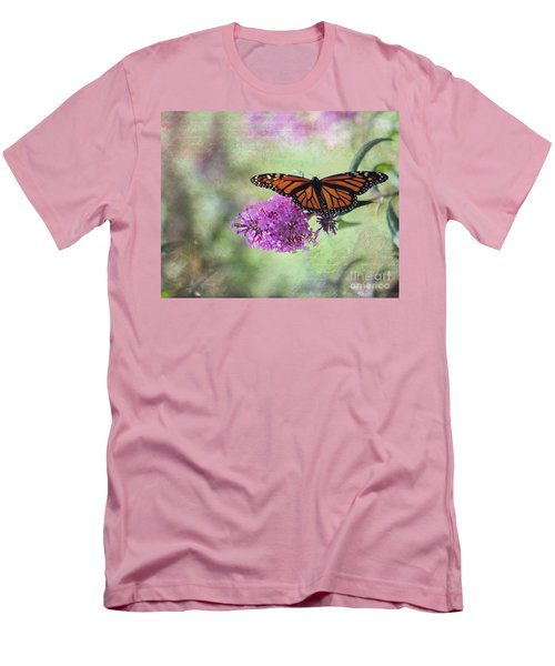 A Touch Of Spring Men's T-Shirt (Slim Fit) by Laurinda Bowling