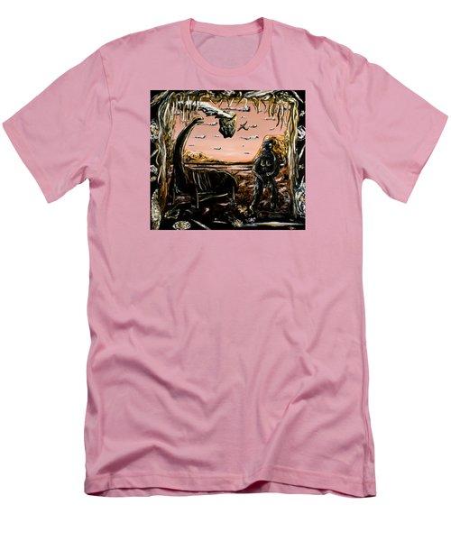 Abiogenesis  Men's T-Shirt (Slim Fit) by Ryan Demaree