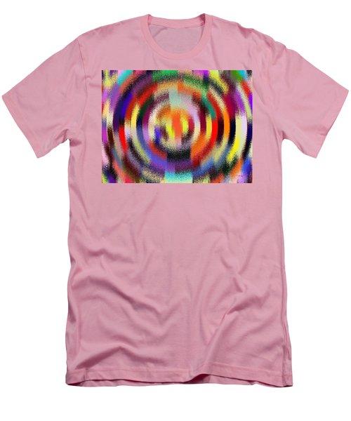 Abstract 120116 Men's T-Shirt (Slim Fit) by Maciek Froncisz