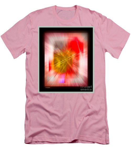 Abstract 530-2016 Men's T-Shirt (Slim Fit) by John Krakora