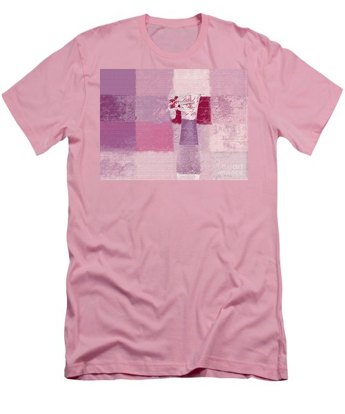 Abstract Floral - 11v3t09 Men's T-Shirt (Athletic Fit)
