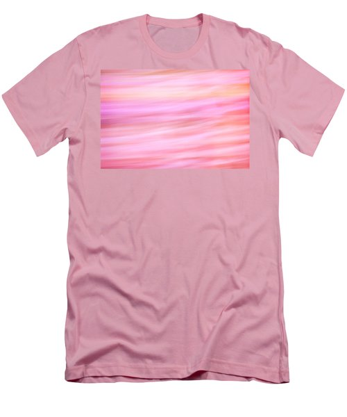 Men's T-Shirt (Athletic Fit) featuring the photograph Abstract Spring Flowers by Marilyn Hunt