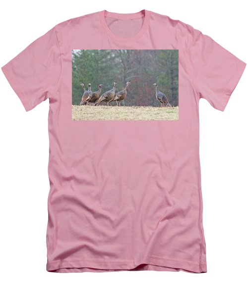 Men's T-Shirt (Slim Fit) featuring the photograph Against The Crowd 1287 by Michael Peychich
