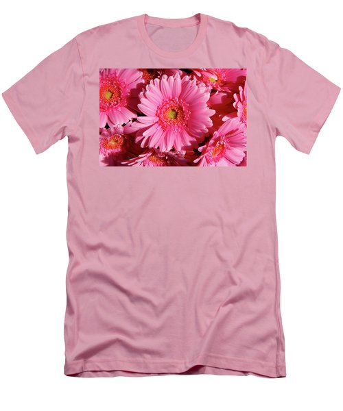Men's T-Shirt (Slim Fit) featuring the photograph Amsterdam In Pink by KG Thienemann