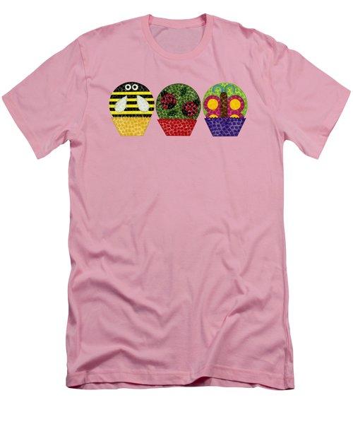 Animal Cupcakes 1 Men's T-Shirt (Athletic Fit)