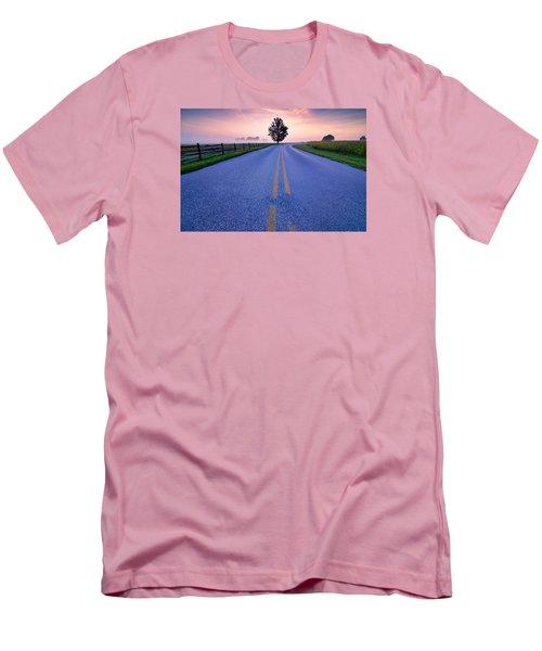 Another Gettysburg Morning Men's T-Shirt (Slim Fit) by Craig Szymanski