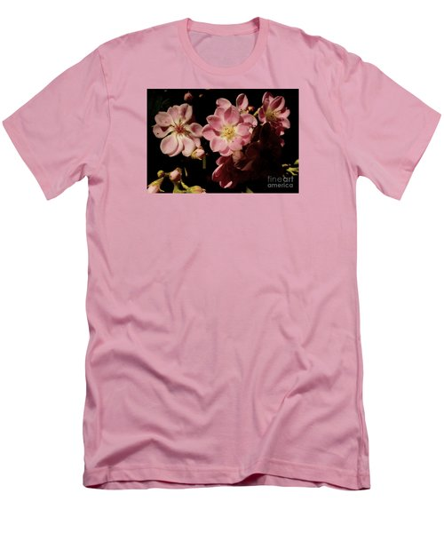 Apple Blossoms IIi Men's T-Shirt (Athletic Fit)