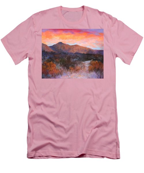 Arizona Sunset 3 Men's T-Shirt (Athletic Fit)