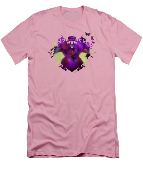 Deep Purple Men's T-Shirt (Slim Fit) by Anita Faye