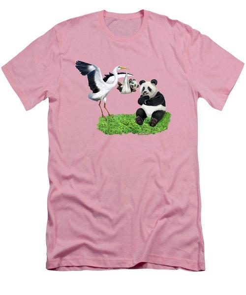 Bundle Of Joy Men's T-Shirt (Slim Fit) by Glenn Holbrook