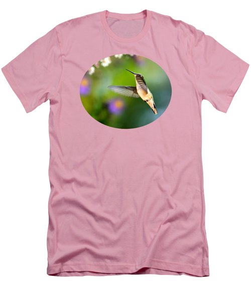 Garden Hummingbird Men's T-Shirt (Athletic Fit)