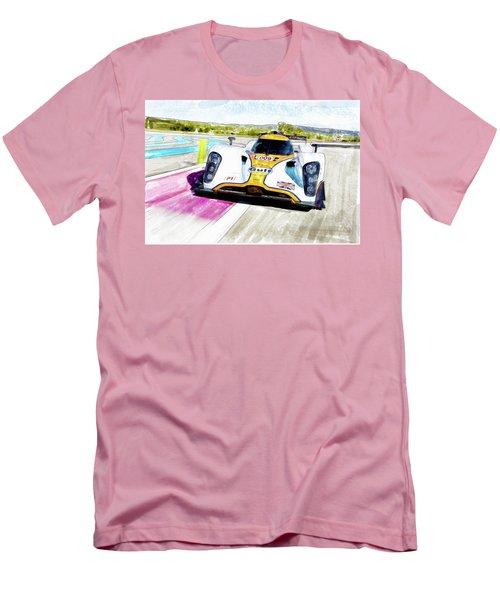 Aston Martin Vantage 009 Men's T-Shirt (Slim Fit) by Michael Cleere