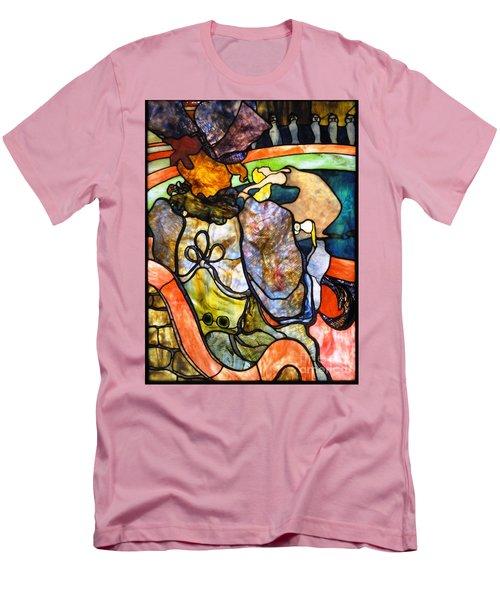 Au Nouveau Cirque Men's T-Shirt (Slim Fit) by Pg Reproductions
