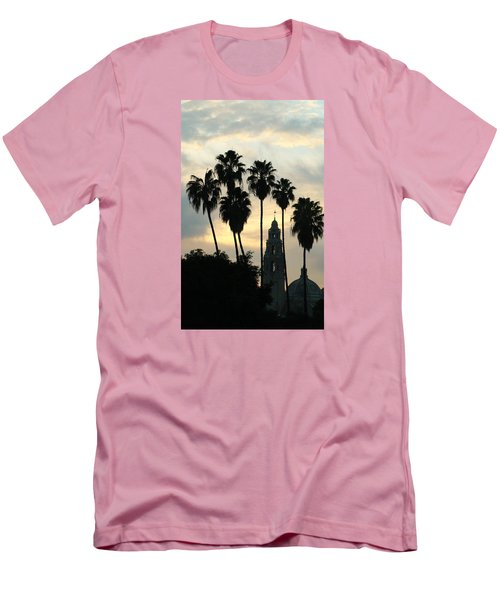 Balboa Park Museum Of Man Men's T-Shirt (Slim Fit) by Christopher Woods