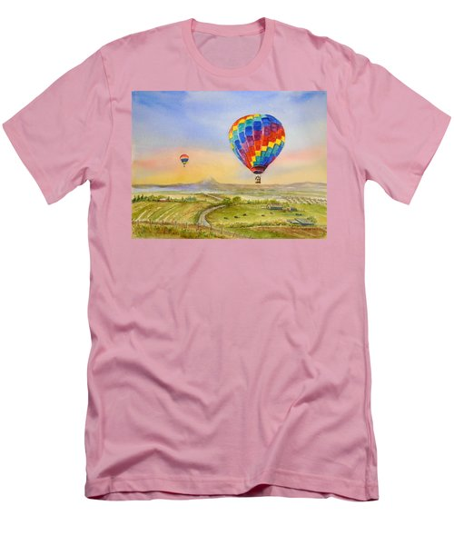 Balloons Over Mcminnville Men's T-Shirt (Athletic Fit)