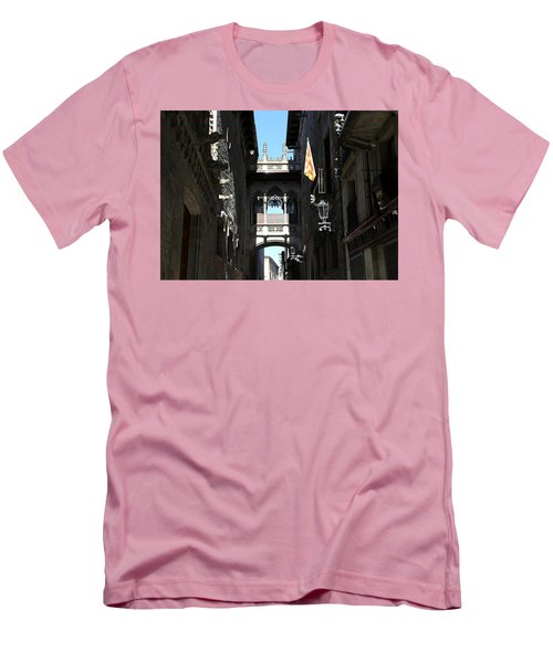 Men's T-Shirt (Slim Fit) featuring the photograph Barcelona 1 by Andrew Fare