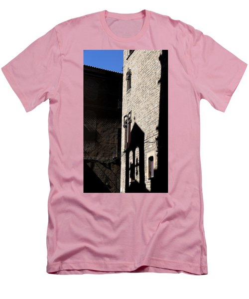 Men's T-Shirt (Slim Fit) featuring the photograph Barcelona 2 by Andrew Fare