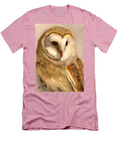 Barn Owl Men's T-Shirt (Slim Fit)