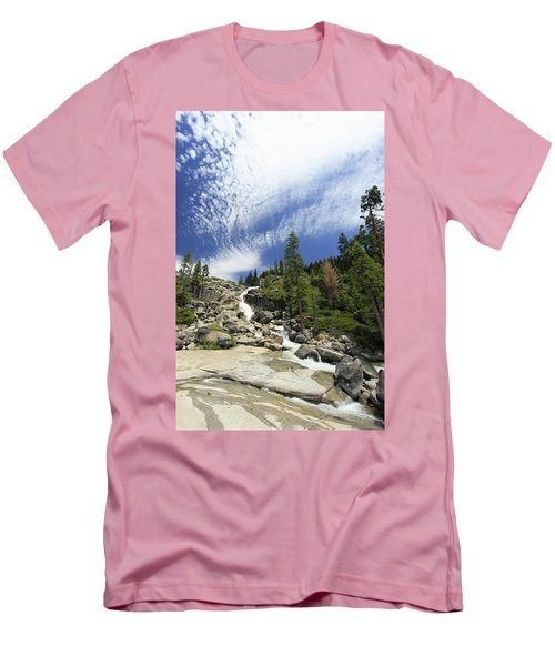 Men's T-Shirt (Athletic Fit) featuring the photograph Bassi Flow by Sean Sarsfield