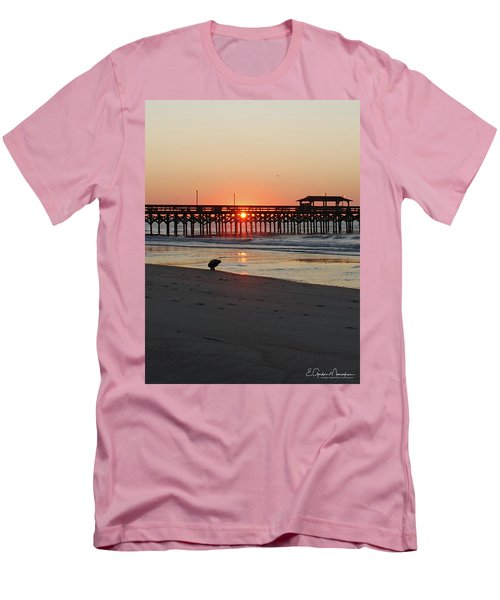 Beachcomber Men's T-Shirt (Slim Fit) by Gordon Mooneyhan
