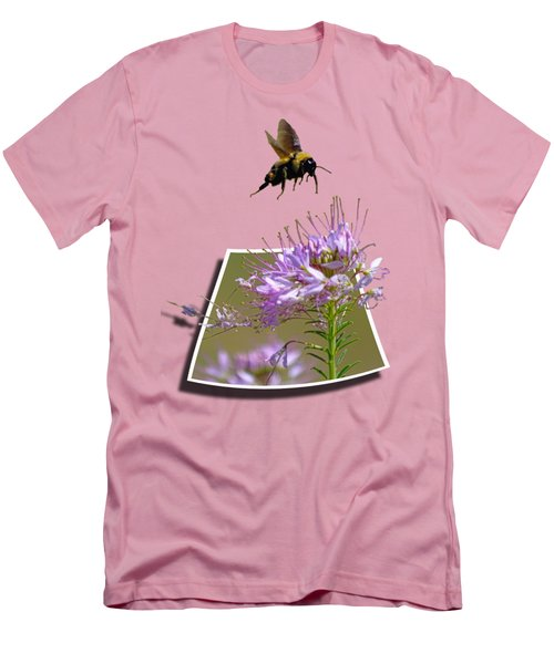 Bee Free Men's T-Shirt (Slim Fit) by Shane Bechler