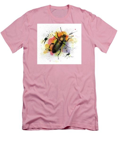 Beetle Illustration Men's T-Shirt (Athletic Fit)