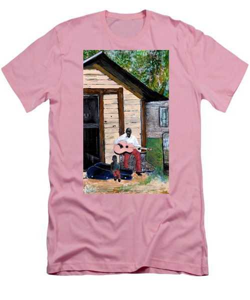 Behind The Old House Men's T-Shirt (Athletic Fit)