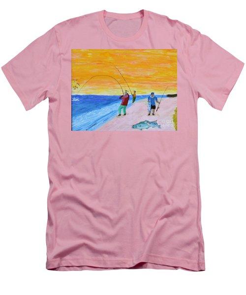 Big Blues At Herring Cove Men's T-Shirt (Athletic Fit)