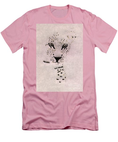 Big Cat Men's T-Shirt (Athletic Fit)