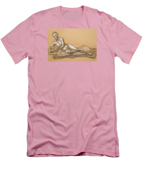 Bill Reclining Men's T-Shirt (Slim Fit) by Donelli  DiMaria