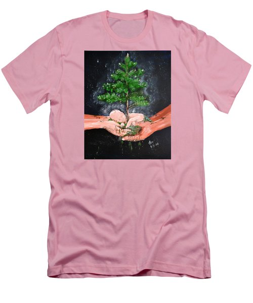 Birth Of A Dream Men's T-Shirt (Athletic Fit)