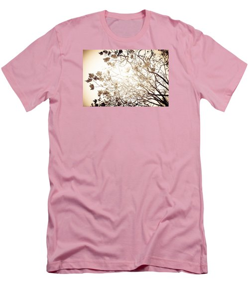Blinding Sun Men's T-Shirt (Slim Fit) by Lora Lee Chapman