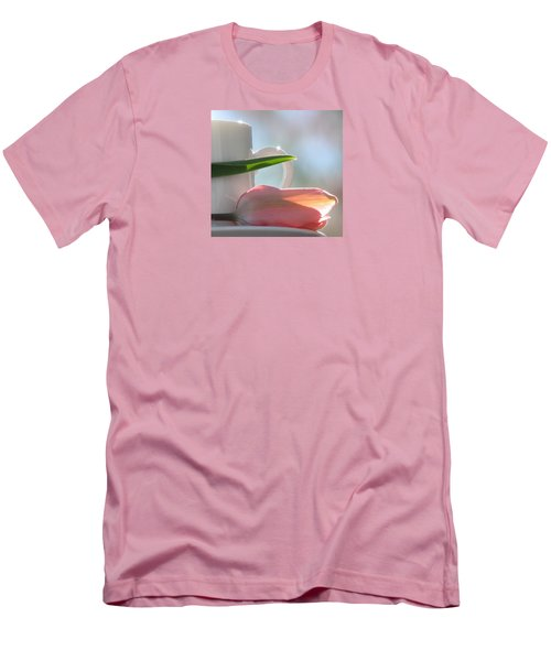 Men's T-Shirt (Slim Fit) featuring the photograph Bliss by Angela Davies